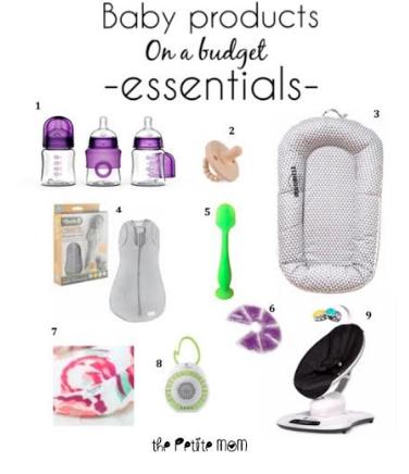 Newborn Essentials on aBudget